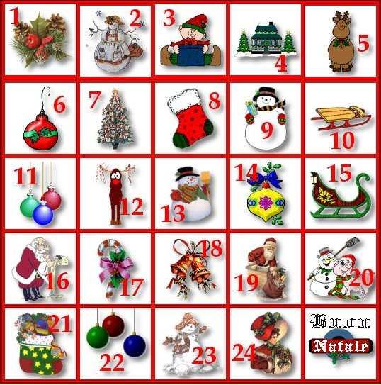 Numeri Per Calendario Avvento.Cos E Il Calendario Dell Avvento Primo Dicembre Prima